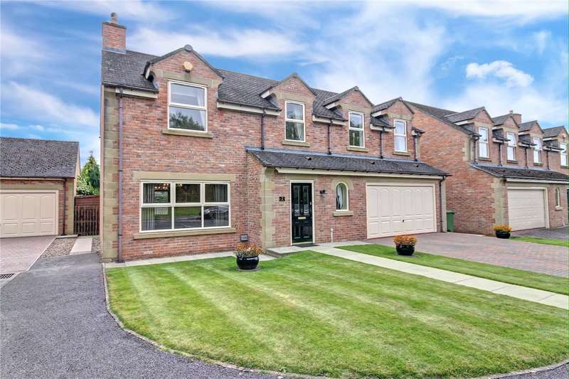 4 Bedrooms Detached House for sale in Ashton Court, Tudhoe Village, Spennymoor, DL16