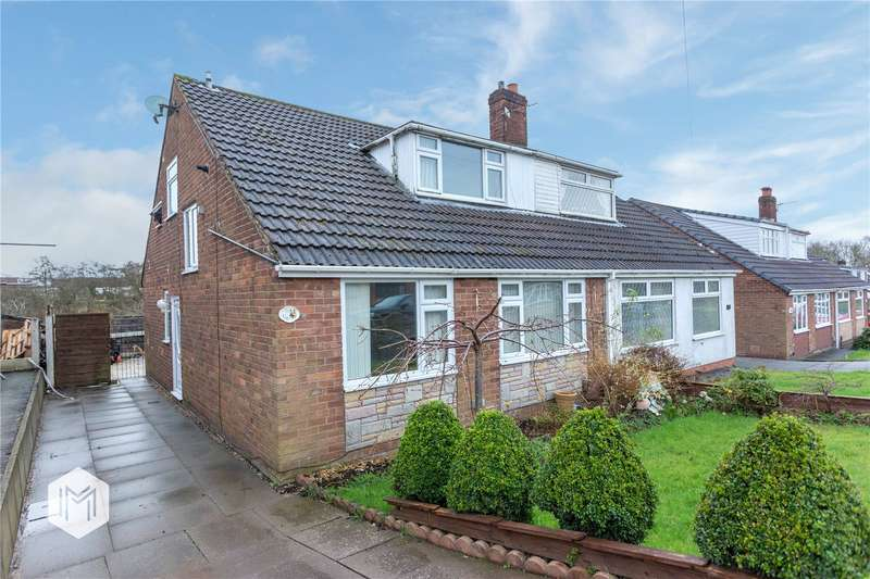 3 Bedrooms Semi Detached Bungalow for sale in Aintree Road, Little Lever, Bolton, Greater Manchester, BL3