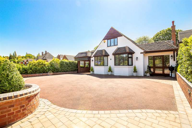 4 Bedrooms Detached House for sale in Monmouth Drive, Sutton Coldfield, B73 6JH