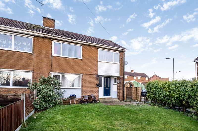 3 Bedrooms Semi Detached House for sale in Burns Road, Dinnington, Sheffield, South Yorkshire, S25