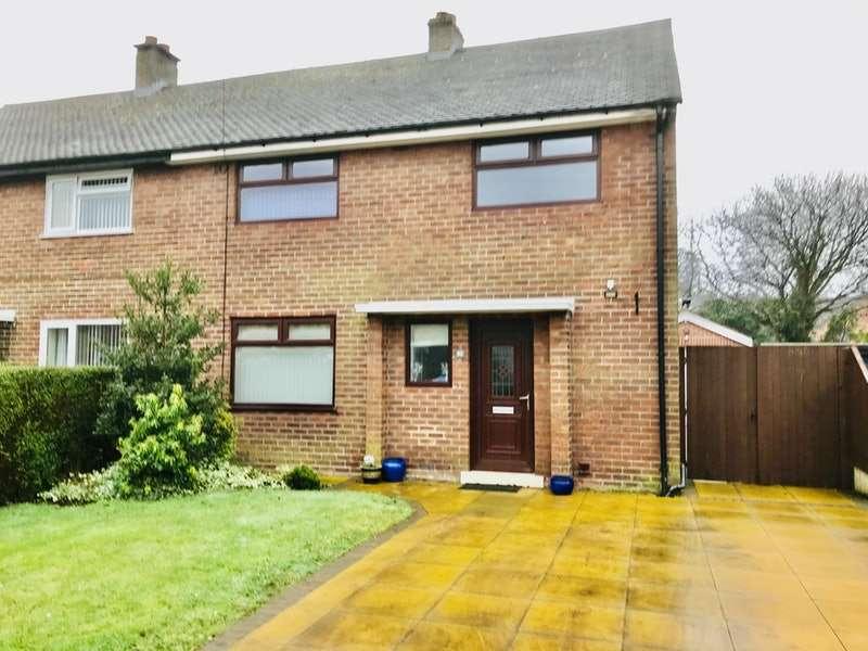 3 Bedrooms Semi Detached House for sale in Rushy Hey, Preston, Lancashire, PR5