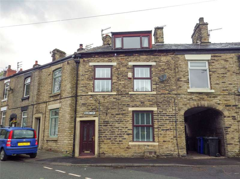 2 Bedrooms Terraced House for sale in Bury Street, Mossley, OL5