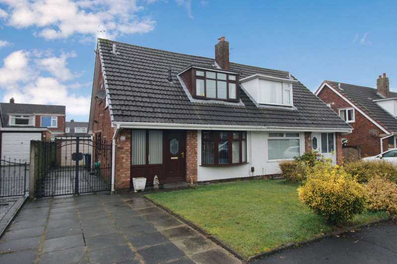 3 Bedrooms Semi Detached House for sale in Greenford Close, Orrell, Wigan, Greater Manchester, WN5