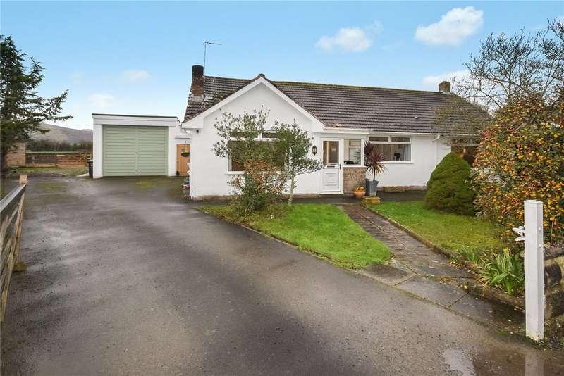 4 Bedrooms Detached Bungalow for sale in Sparrow Hill Way, Weare, Axbridge, Somerset, BS26