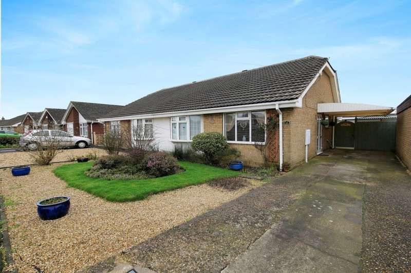 2 Bedrooms Semi Detached Bungalow for sale in Wilmington Drive, Sutton-On-Sea, Mablethorpe, LN12