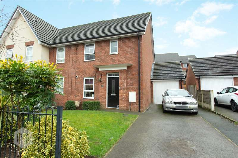 3 Bedrooms Semi Detached House for sale in James Street, Radcliffe, Manchester, Greater Manchester, M26