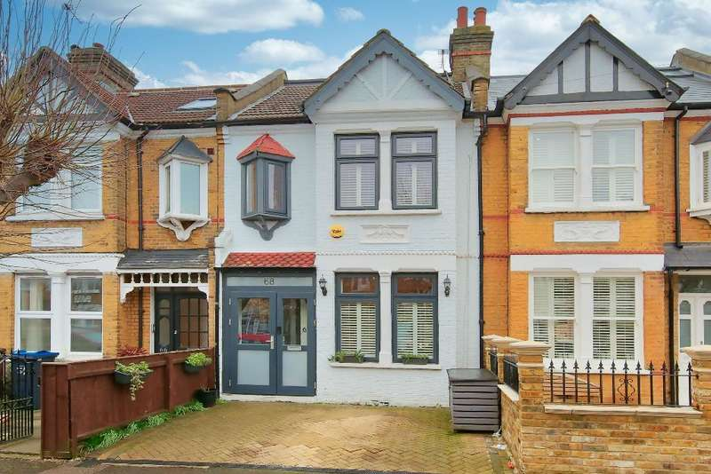 3 Bedrooms Terraced House for rent in Carlton Park Avenue, London, SW20 8BL
