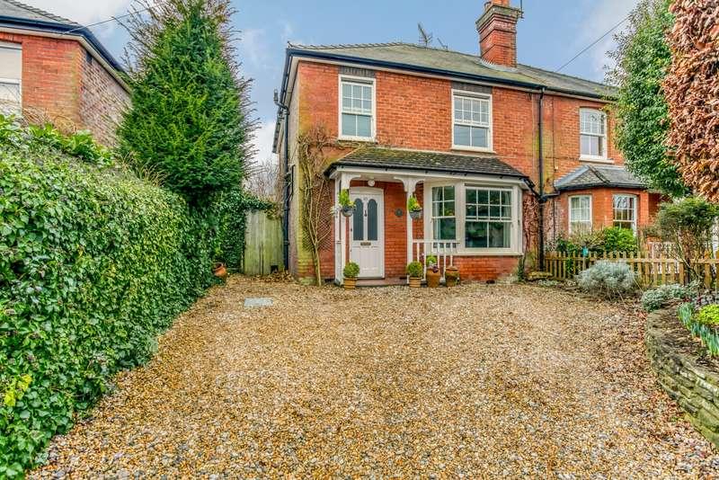 4 Bedrooms Semi Detached House for sale in Crownpits Lane, Busbridge, Godalming, GU7