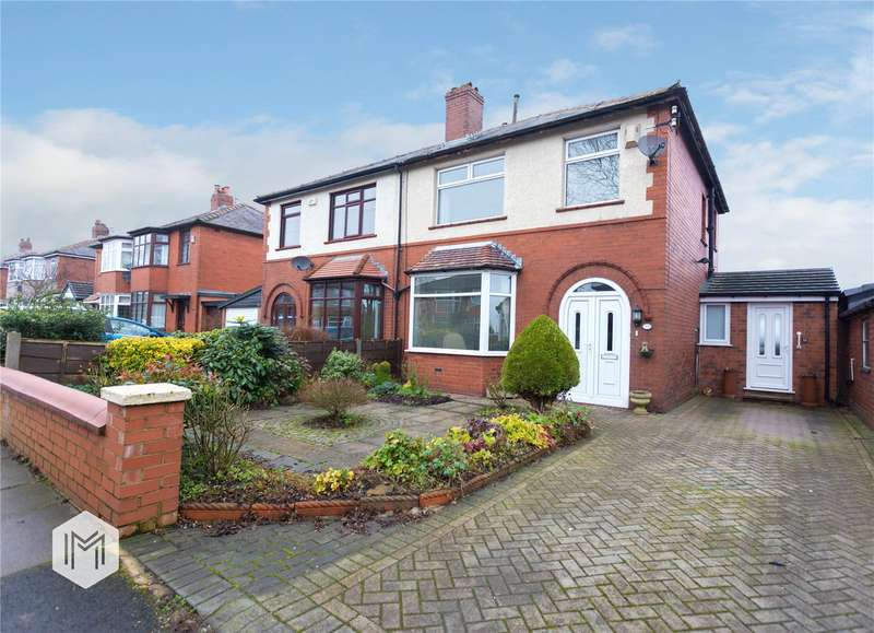 3 Bedrooms Semi Detached House for sale in Plodder Lane, Farnworth, Bolton, Greater Manchester, BL4