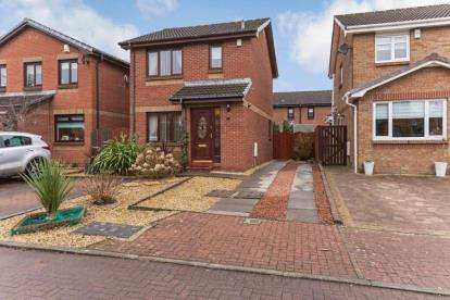 3 Bedrooms Detached House for sale in Dickens Grove, Newarthill, Motherwell, North Lanarkshire