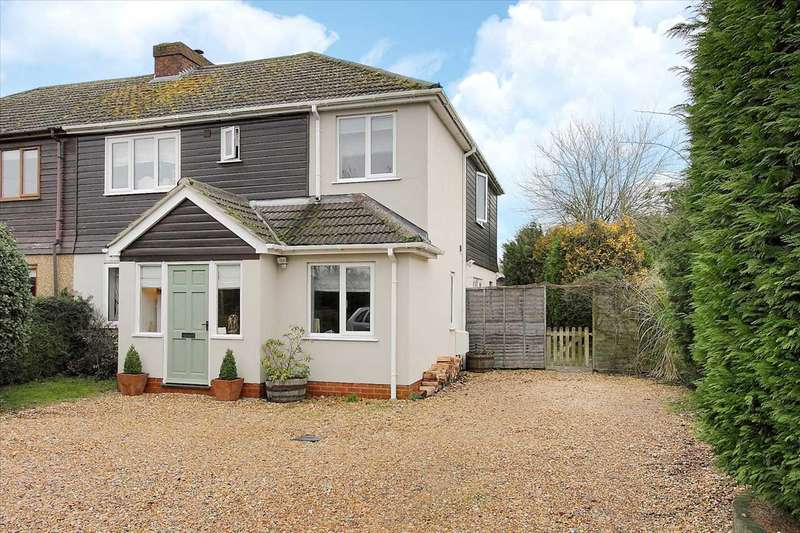 4 Bedrooms Semi Detached House for sale in Micheldever Road, Whitchurch