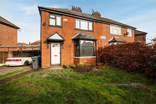 3 Bedrooms Semi Detached House for sale in Pulford Avenue, Manchester