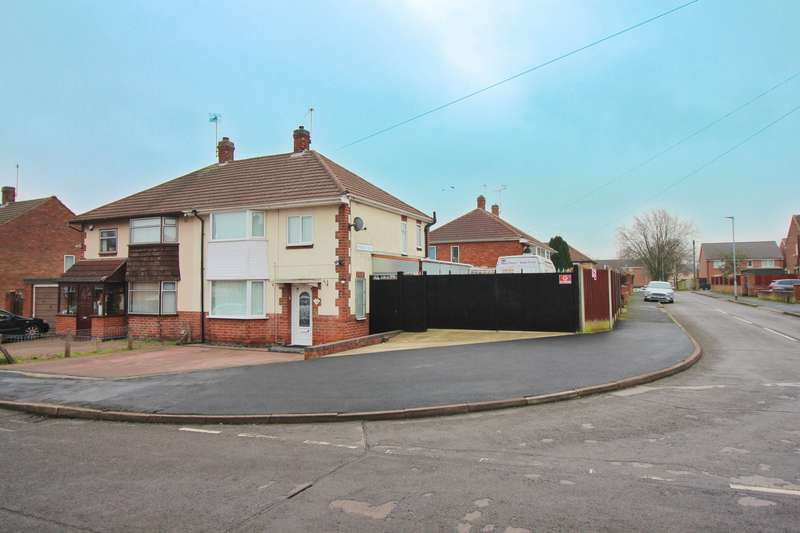 3 Bedrooms Semi Detached House for sale in Parkdale Road, Thurmaston, LE4