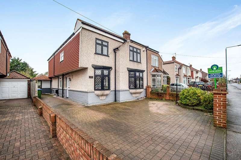 4 Bedrooms Semi Detached House for sale in Long Lane, Bexleyheath, Kent, DA7