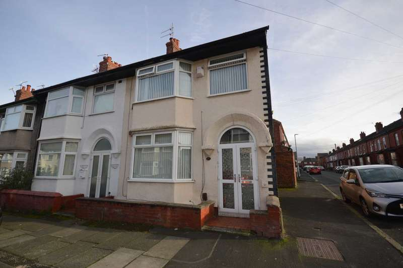 3 Bedrooms End Of Terrace House for sale in Beverley Road, New Ferry