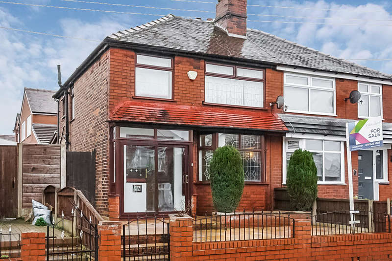 3 Bedrooms Semi Detached House for sale in Stirling Road, Chadderton, Oldham