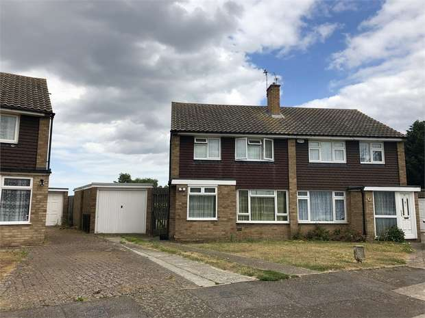 3 Bedrooms Semi Detached House for sale in Hobart Gardens, SITTINGBOURNE, Kent