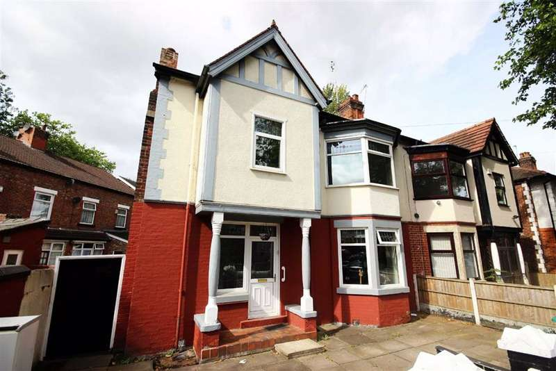 4 Bedrooms Semi Detached House for sale in Birch Hall Lane, Manchester