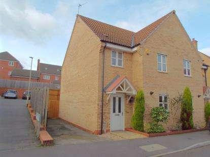 3 Bedrooms Semi Detached House for sale in Stillington Crescent, Hamilton, Leicester, Leicestershire