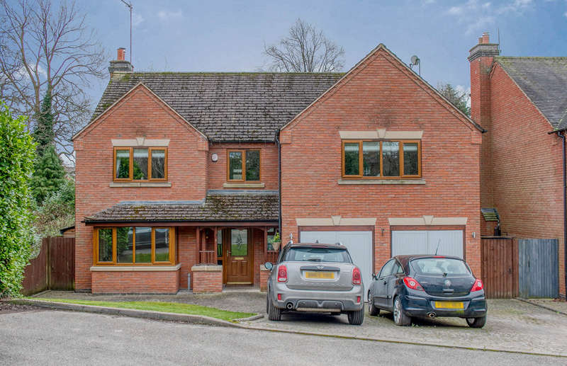 5 Bedrooms Detached House for sale in Springvale Drive, Webheath, Redditch, B97 5PL
