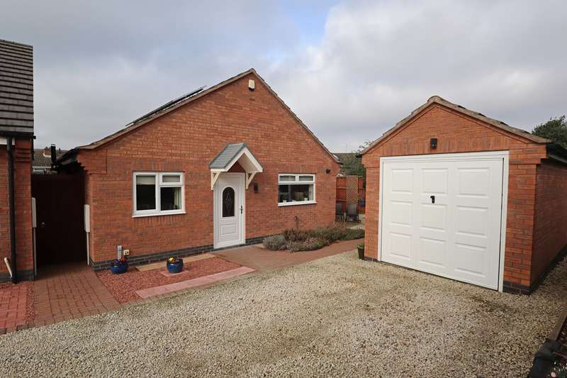 2 Bedrooms Detached Bungalow for sale in Kirkby Road, Barwell, Leicester, LE9