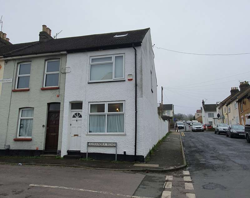 3 Bedrooms End Of Terrace House for sale in Alexandra Road, Chatham, Kent, ME4