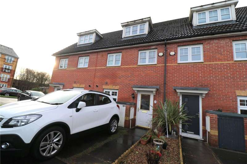 3 Bedrooms Terraced House for sale in Everside Close, Worsley, Manchester, Greater Manchester, M28