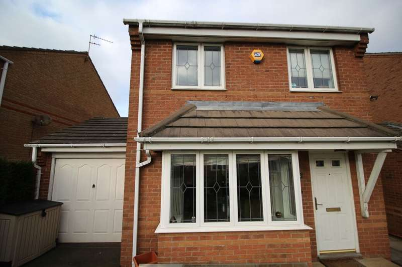 3 Bedrooms Detached House for sale in Priestman Road, Thorpe Astley,Braunstone, Leicester, LE3