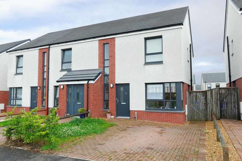 3 Bedrooms Semi Detached House for sale in Kintyre Avenue, Doonfoot, Ayr, South Ayrshire, KA7 4GB