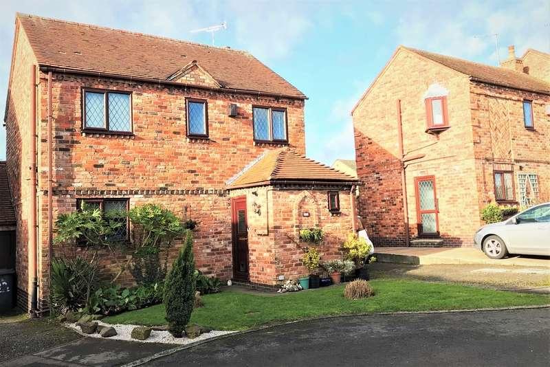 3 Bedrooms Semi Detached House for sale in Scott Close, Ashby-de-la-Zouch