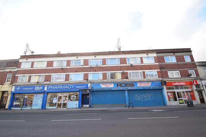 2 Bedrooms Flat for sale in Kingston Road, Portsmouth, PO1