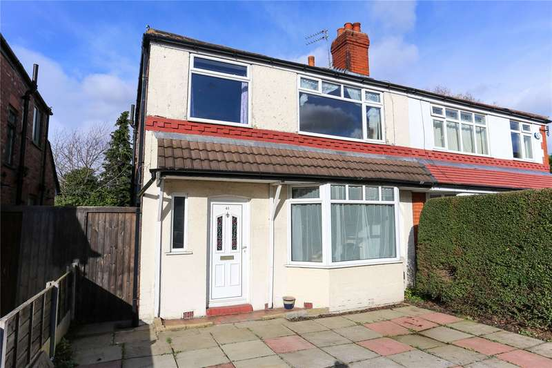 3 Bedrooms Semi Detached House for sale in Brookthorpe Avenue, Burnage, Manchester, M19