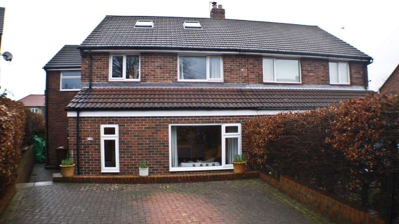 4 Bedrooms Semi Detached House for sale in Park Avenue, Prudhoe, NE42