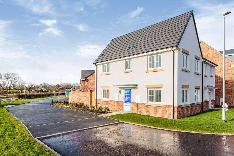 3 Bedrooms Semi Detached House for sale in Blackfield Green, Warton, Preston, Lancashire, PR4