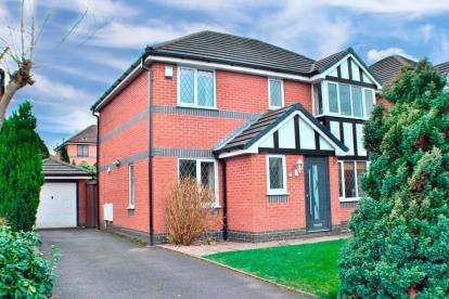 Detached House for sale in Old Gates Drive, Feniscowles, Blackburn, Lancashire, BB2