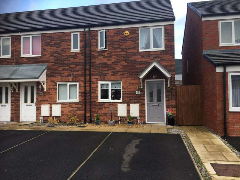 2 Bedrooms End Of Terrace House for sale in Gate Lane, Radcliffe, Manchester, M26