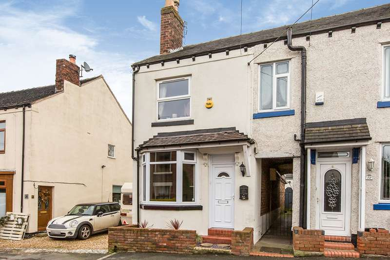3 Bedrooms Semi Detached House for sale in Chester Road, Audley, Stoke-on-Trent, Staffordshire, ST7