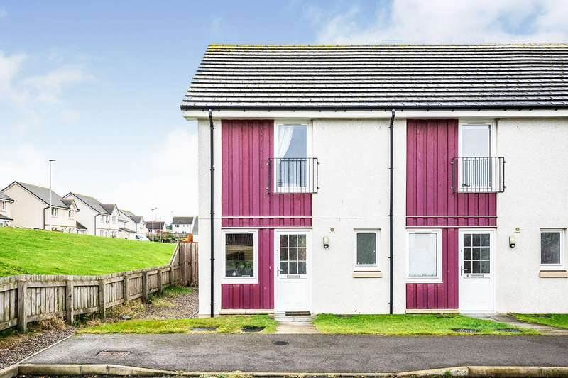 2 Bedrooms End Of Terrace House for sale in Larchwood Drive, Inverness, Highland, IV2