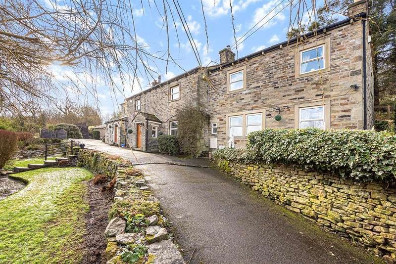 4 Bedrooms Detached House for sale in Browside Farm House, Cononley