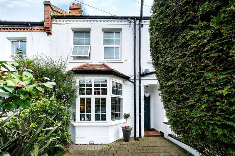 3 Bedrooms Terraced House for sale in Crewys Road, Childs Hill, London, NW2