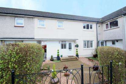 3 Bedrooms Terraced House for sale in Alloway Drive, Kirkintilloch, Glasgow, East Dunbartonshire