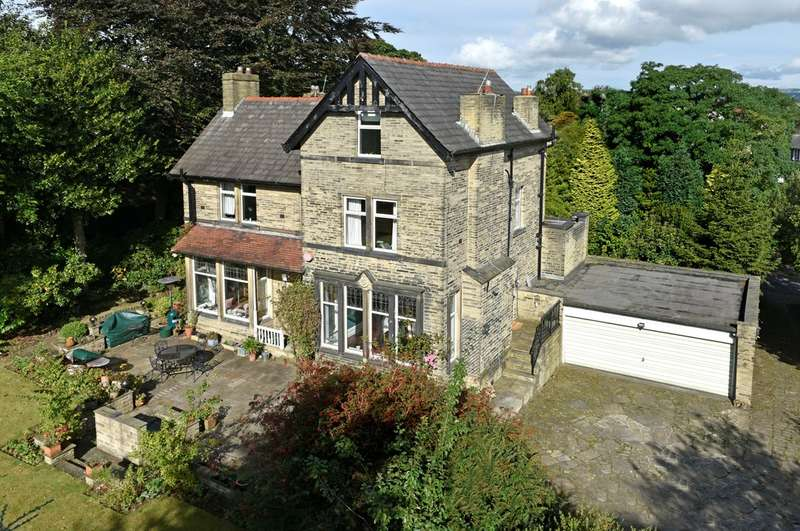 5 Bedrooms Detached House for sale in Woodhouse Lane, Brighouse