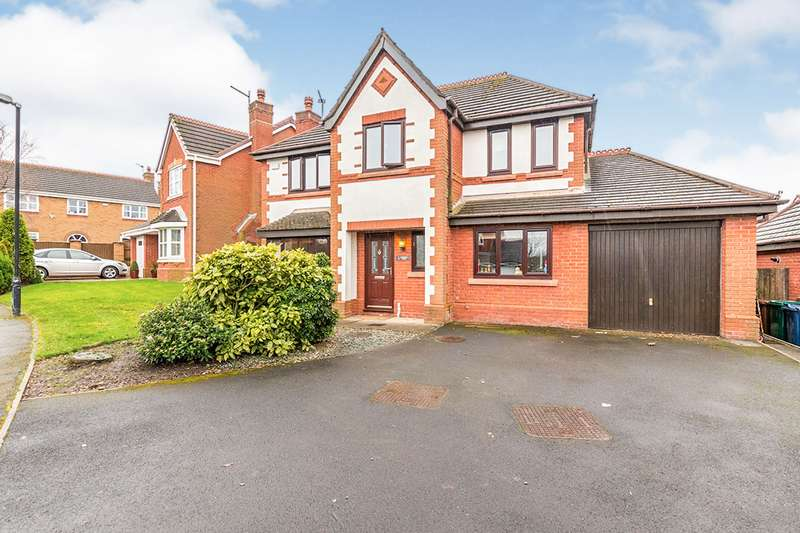 4 Bedrooms Detached House for sale in Dewberry Fields, Upholland, Skelmersdale, Lancashire, WN8