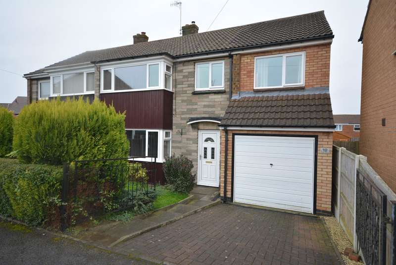 4 Bedrooms Semi Detached House for sale in Parker Avenue, Calow, Chesterfield, S44 5AY