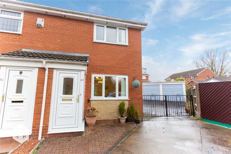 2 Bedrooms Semi Detached House for sale in Quakerfields, Westhoughton, Bolton, Greater Manchester, BL5