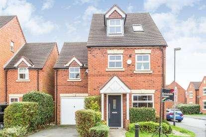 3 Bedrooms Detached House for sale in Great Park Drive, Leyland, Lancashire, PR25