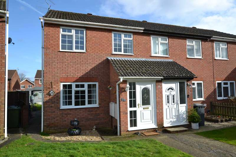 3 Bedrooms End Of Terrace House for sale in Blackthorne Close, Bordon, Hampshire, GU35