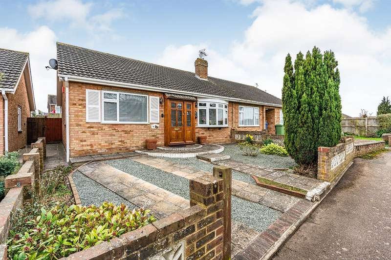 3 Bedrooms Semi Detached Bungalow for sale in Monks Close, Faversham, Kent, ME13