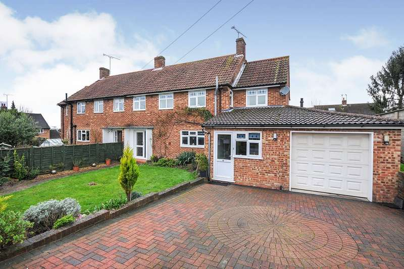 4 Bedrooms Semi Detached House for sale in Collet Road, Kemsing, Sevenoaks, Kent, TN15