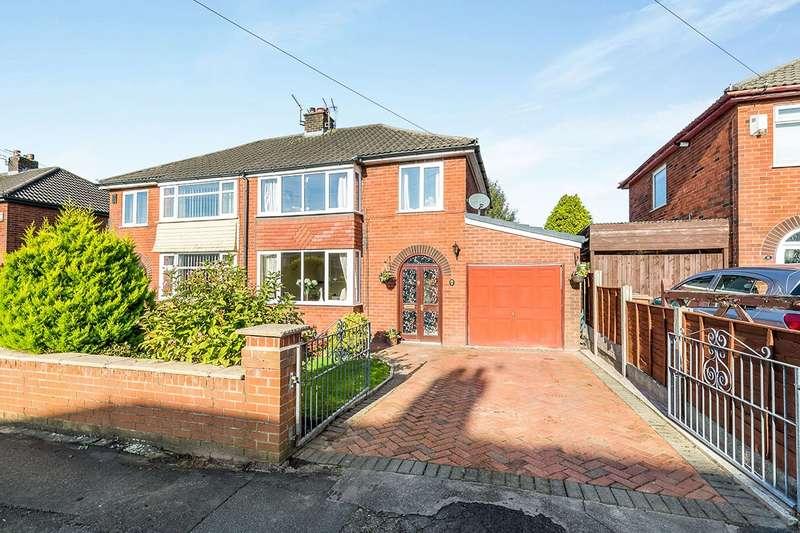 3 Bedrooms Semi Detached House for sale in St. Marys Avenue, Walton-le-Dale, Preston, Lancashire, PR5